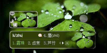 夏日清新-露珠