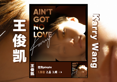 【韩】王俊凯·Aint got no love